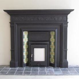 Restored Cast Iron Fireplace